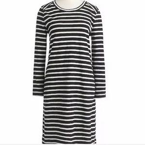 J. Crew Side Zip Tee Shirt Dress